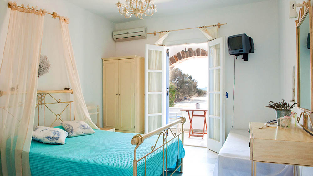 Accommodation on Naxos island