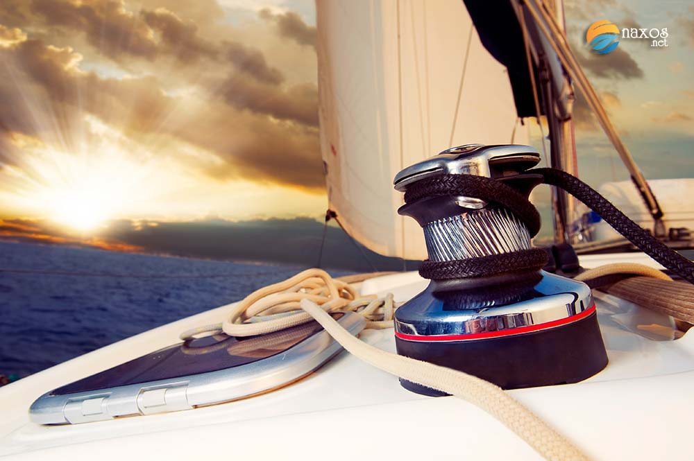 Naxos activities - sailing