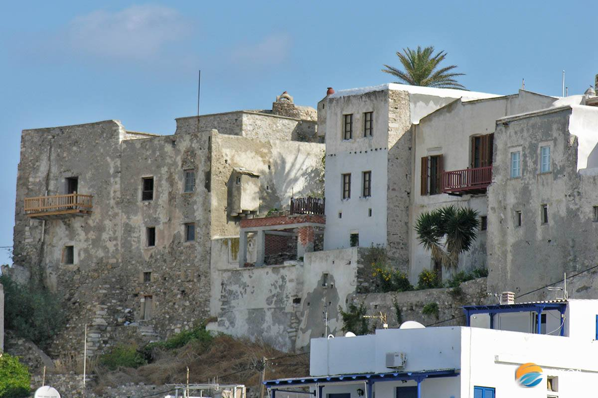 Mansions of Naxos, the noble people houses
