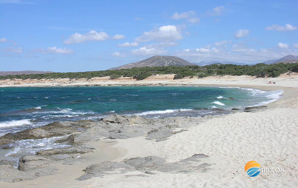Find your beach on Naxos island