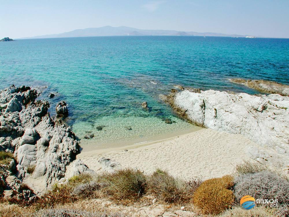 Orkos beach, Naxos