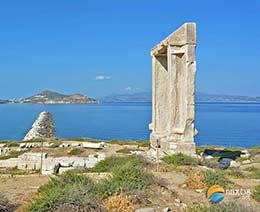 Portara, the huge marble gate
