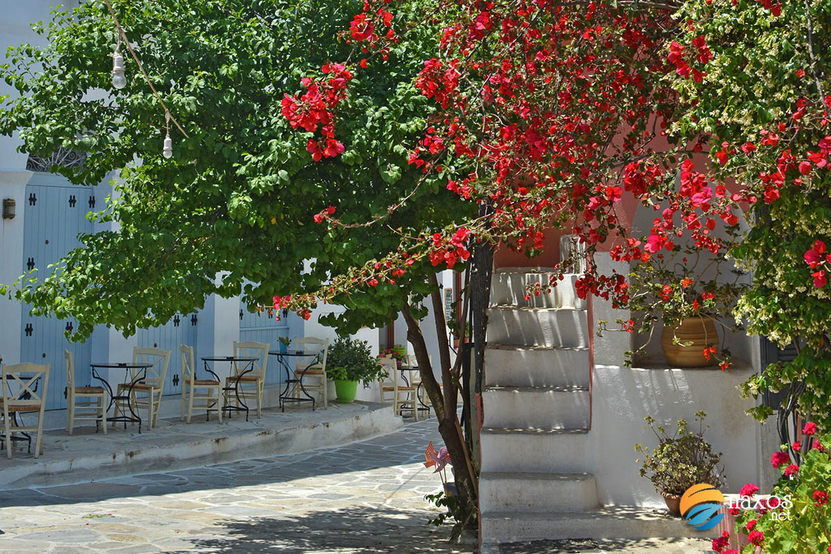 Halki, the colourful village