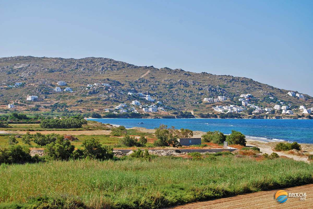 Naxos countryside, Farmlands near the beaches of Naxos