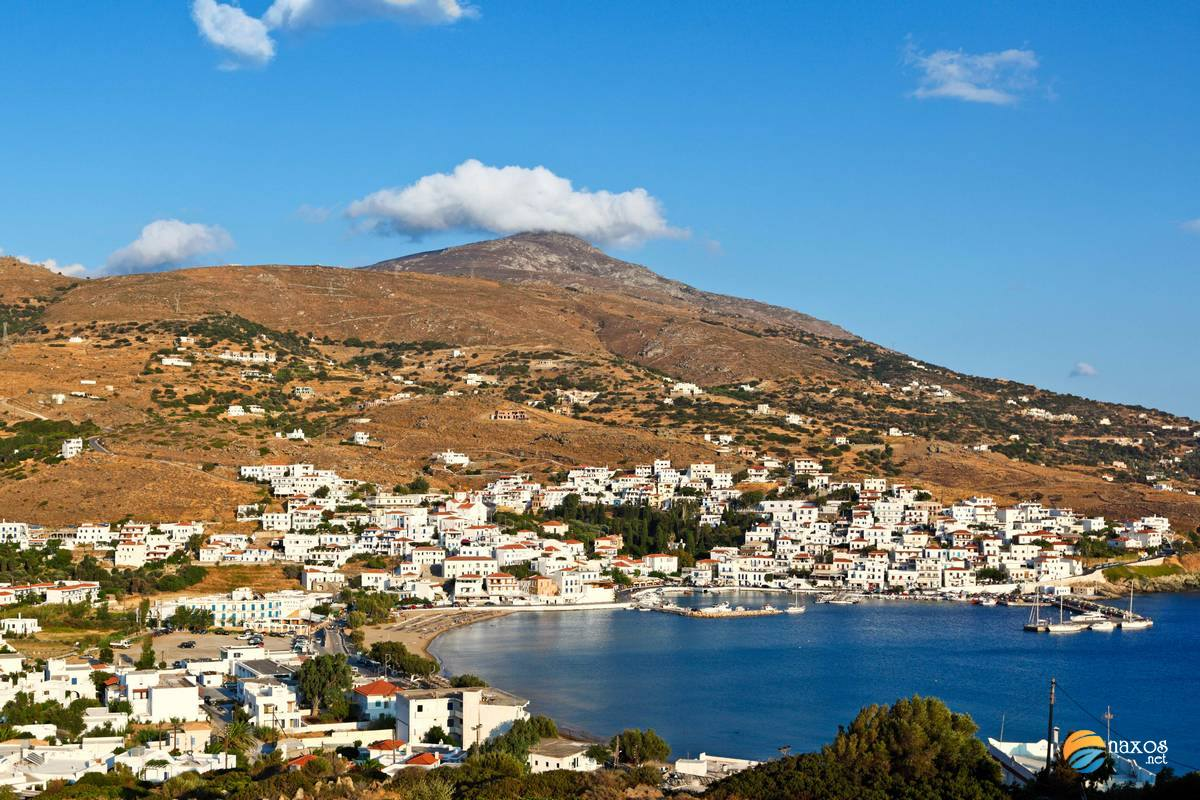 Andros island in Cyclades, Greece