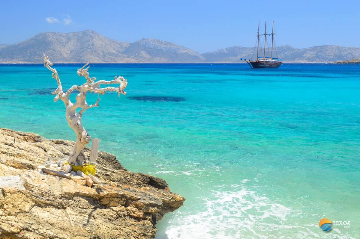 Koufonissi Island In Cyclades Greece