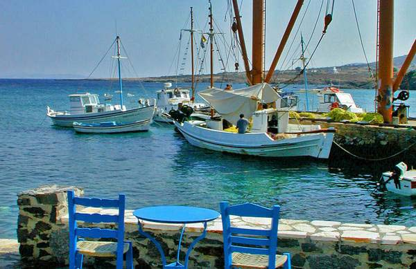 Traditional villages of Naxos