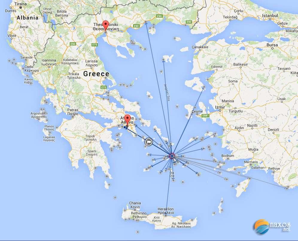 Naxos ferry