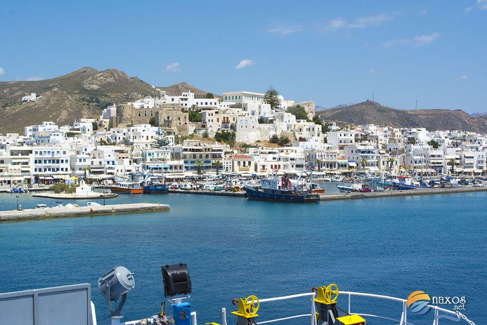 Naxos to ferry