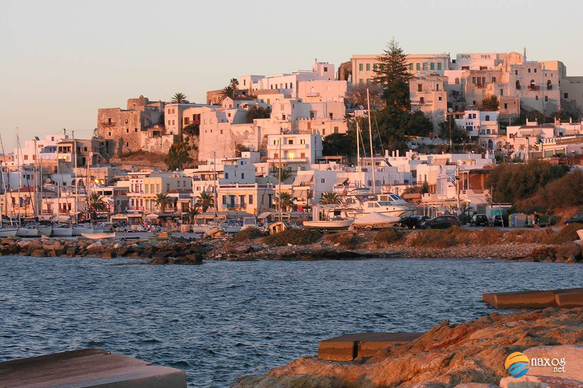The history of Naxos during modern times