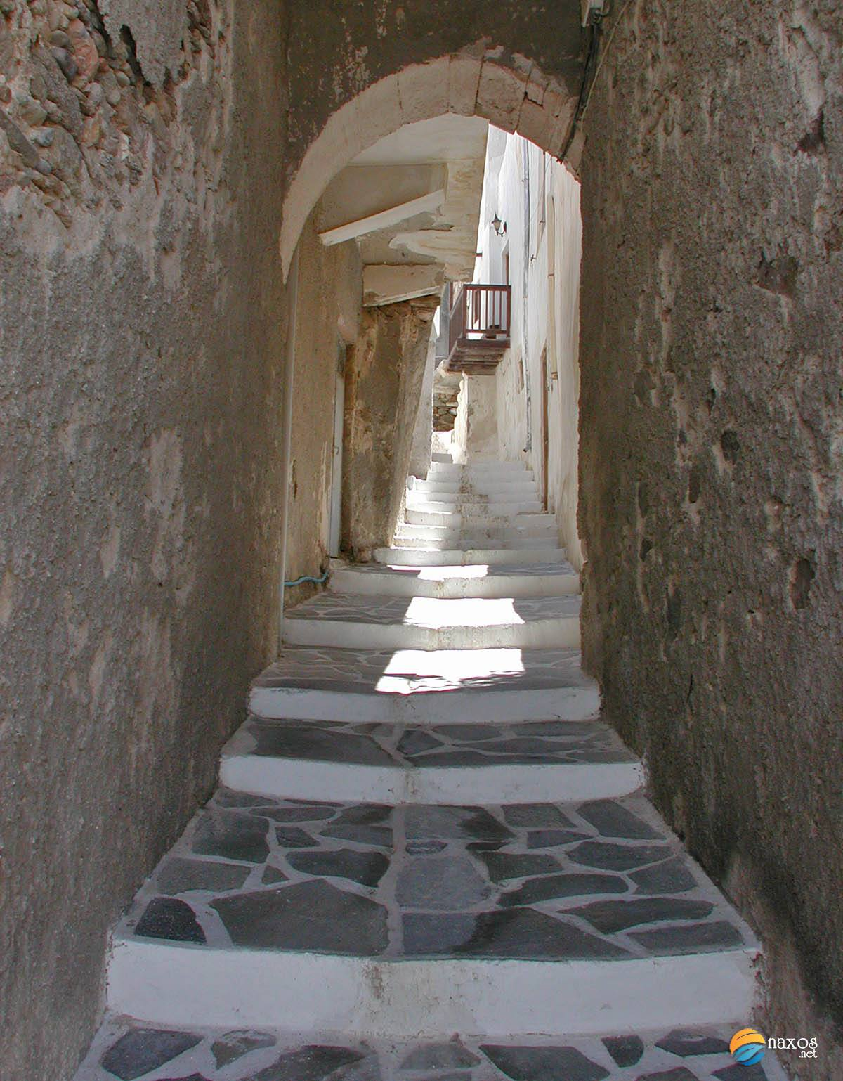 Inside the Venetian castle of Naxos Town