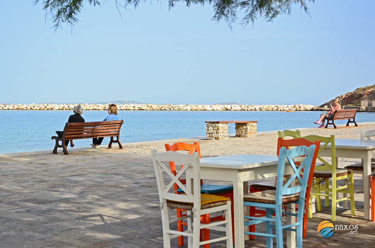 Relaxing holidays on Naxos