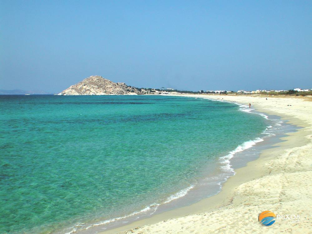 Kastraki beach of Naxos