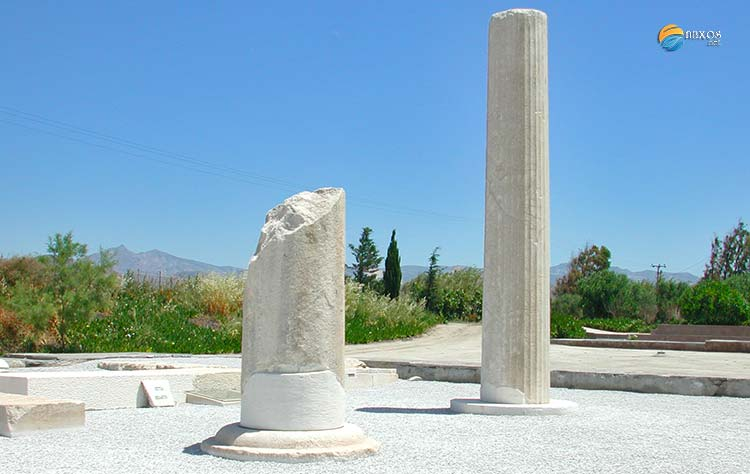 Yria, the Sanctuary of Dionysus on Naxos island