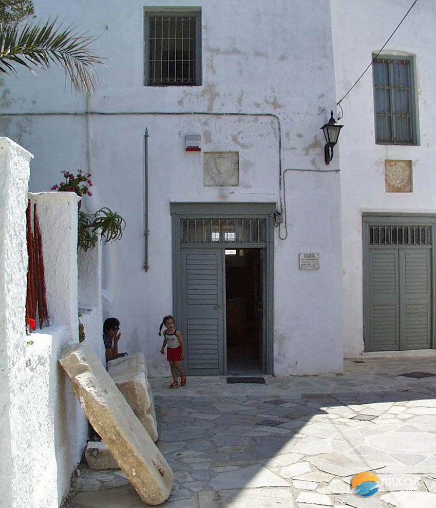 Samples of Naxos architecture throughout time