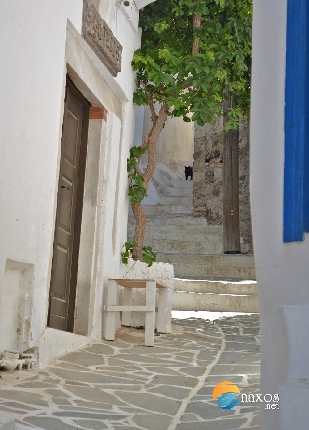 Alley in Naxos Town