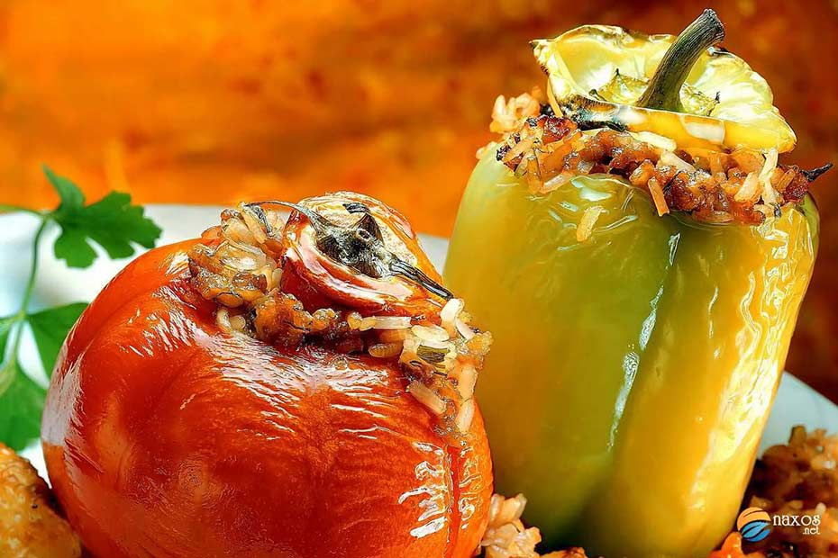 Gemista (Stuffed tomatoes and peppers)