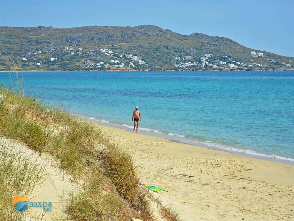 The secluding beaches of Naxos