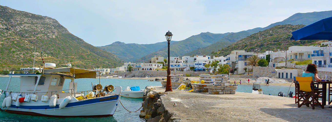Seaside villages of Naxos