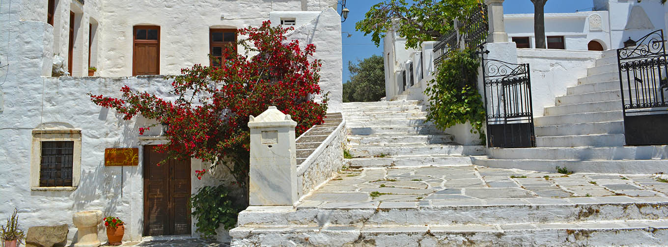 Picturesque villages on Naxos, Greece
