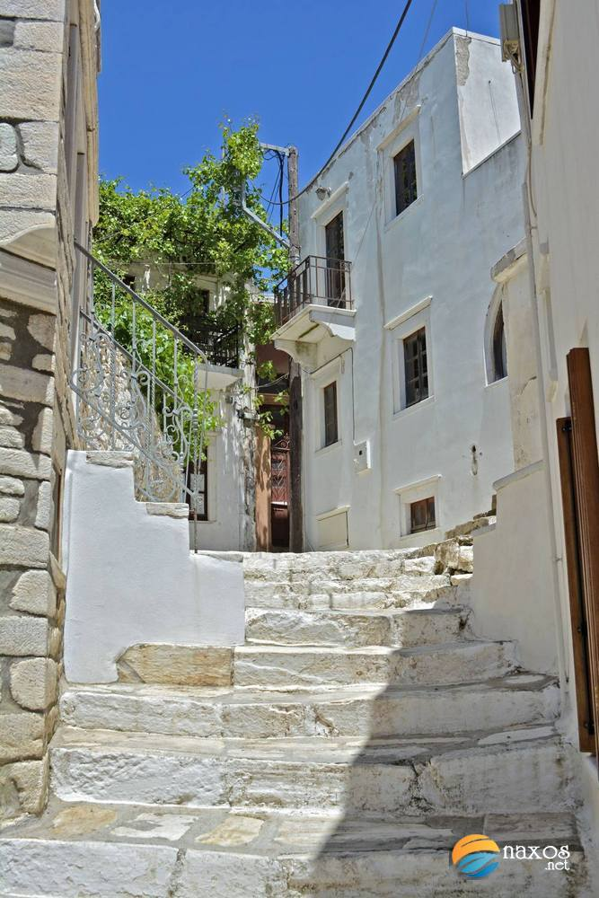 The alleys of Apeiranthos