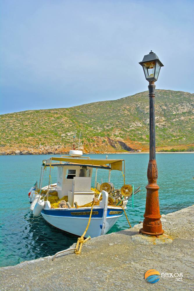 A fishing boat at Apollonas