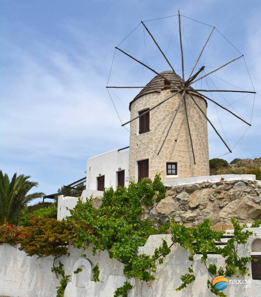 Typical house with windmill at Galanado