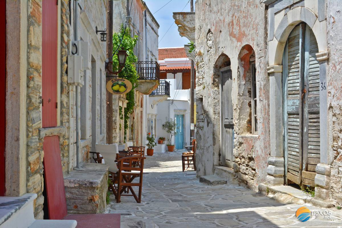 The beautiful architecture of Chalki village