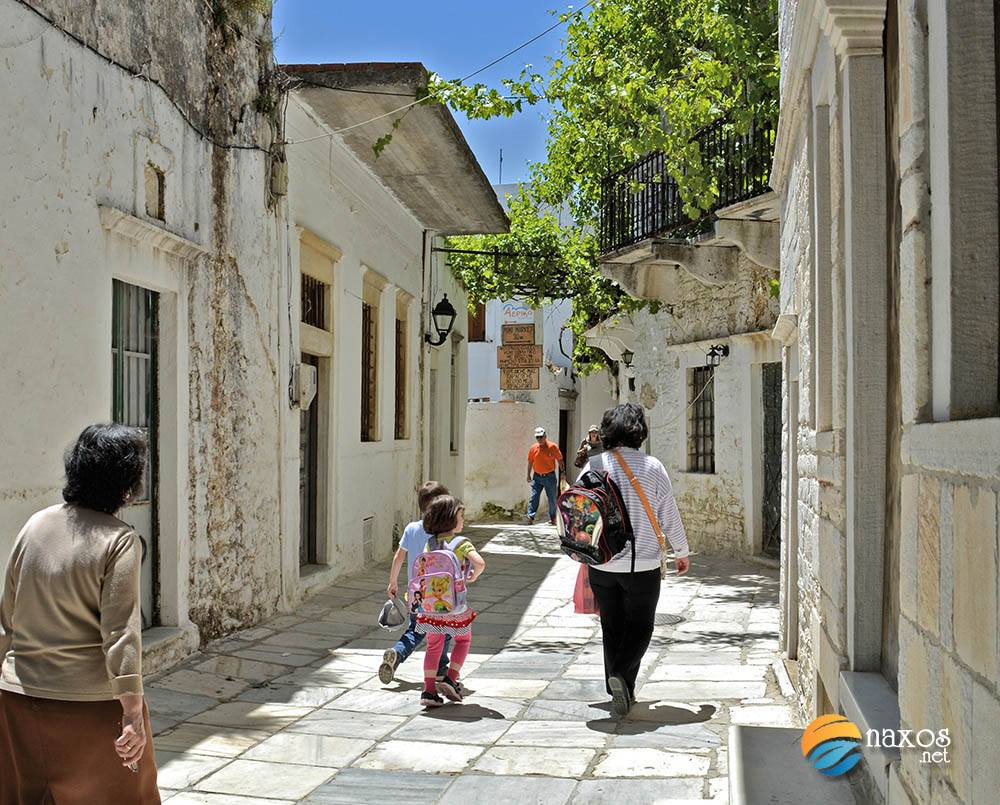 Villages of Naxos